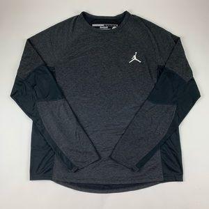 Jordan Training Long Sleeve Athletic Pullover